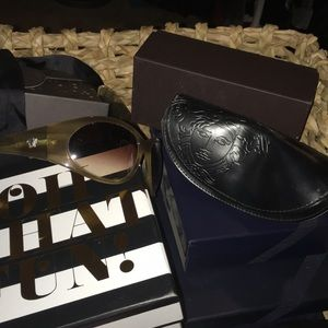 Authentic Versace Sunglasses and case